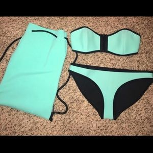 TRIANGL TWO PIECE SWIMSUIT